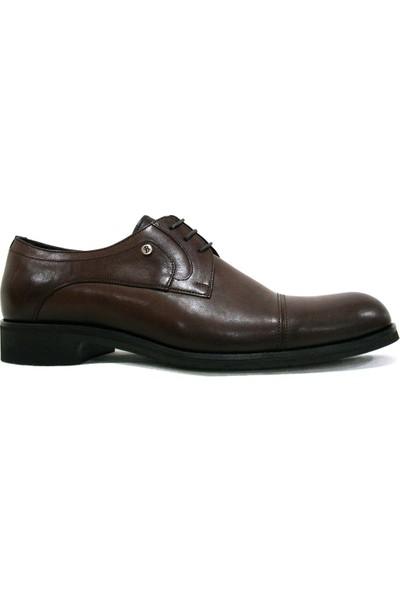 Burç 2240 Kahverengi Bağcıklı Erkek Ayakkabı