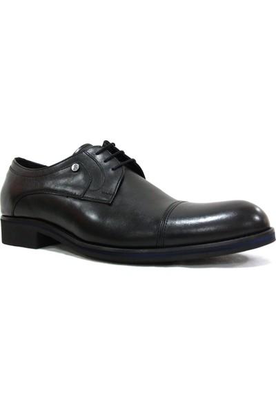 Burç 2240 Siyah Bağcıklı Erkek Ayakkabı