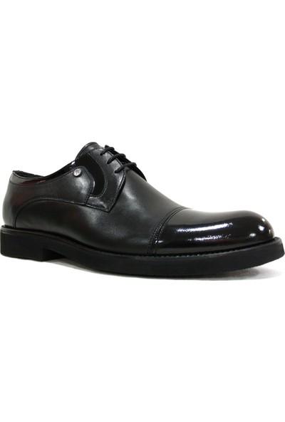 Burç 3101 Siyah Bağcıklı Erkek Ayakkabı