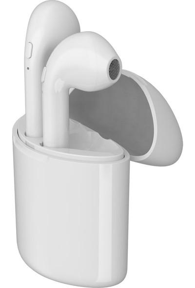 Jwmaster T300 Mikrofonlu True Wireless Bluetooth Kulaklık Beyaz