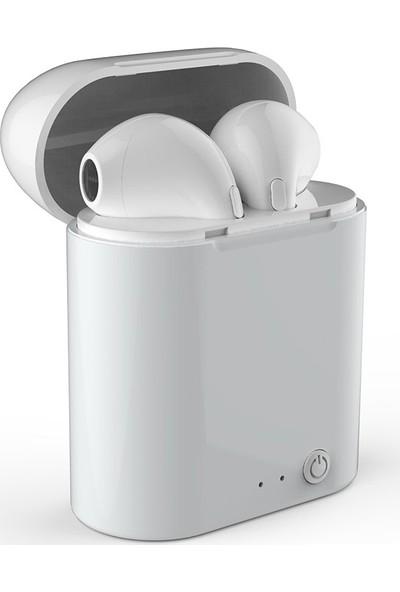 Jwmaster T100 Mikrofonlu True Wireless Bluetooth Kulaklık Beyaz