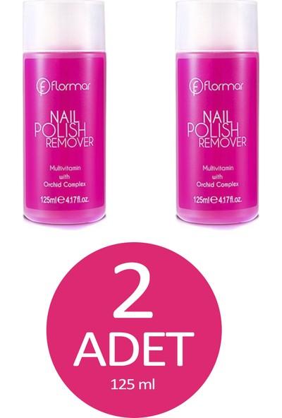 Flormar Aseton 125 ml 2'li