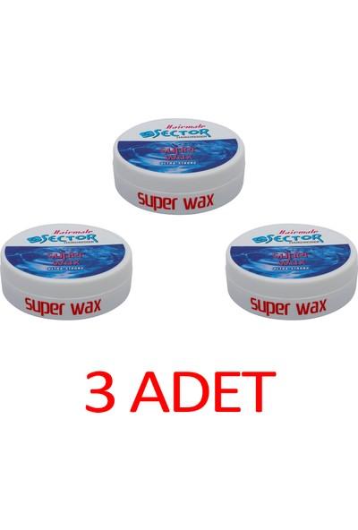 Sector Ultra Strong Super Wax 150 ml 3'lü Set