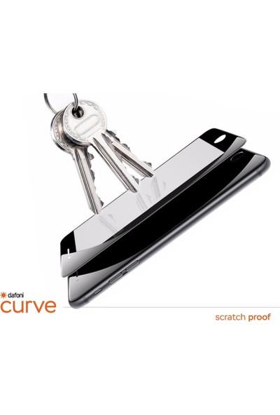 Dafoni Oppo Reno Curve Tempered Glass Premium Full Siyah Cam Ekran Koruyucu