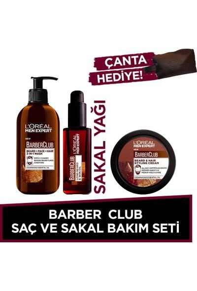 L'oréal Paris Men Expert Barber Club Saç Ve Sakal Bakım Seti
