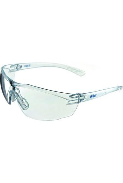 Draeger X-Pect Seffaf Gözlük
