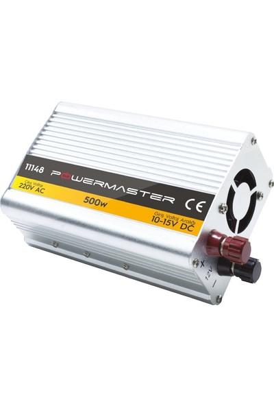 Powermaster Modified Sinus İnverter 12V-500W