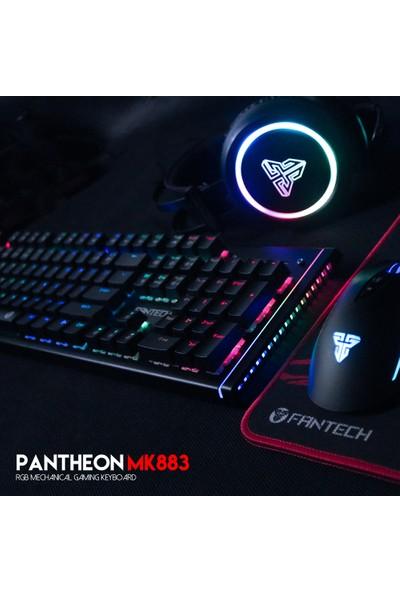 Fantech Pantheon MK883 Metal Mekanik Su Geçirmez Oyuncu Klavyesi Mavi anahtar