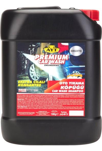 Ayt Premium Ekstra Cilalı Fırçasız Oto Yıkama Şampuanı 10 Kg