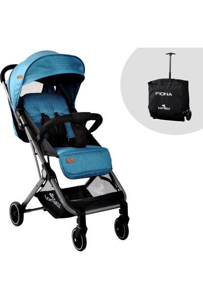 Lorelli Fiona Spor Alüminyum Bebek Arabası Blue