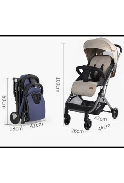 Lorelli Fiona Spor Alüminyum Bebek Arabası Grey