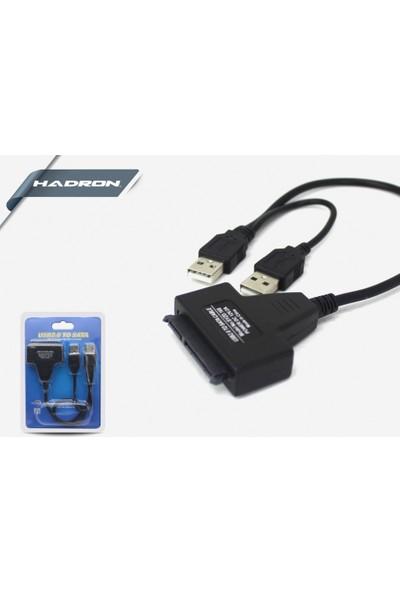 """Hadron HD4571 USB 2.0 Sata 2.5 """" HDD Bağlantı Kablo"""