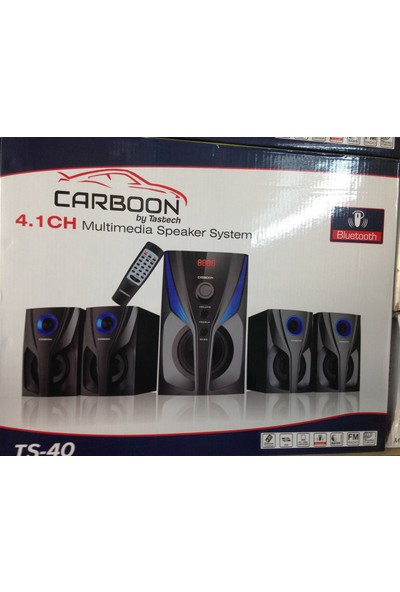 Tastech Carbon Ts-40 BT/USB/SD/FM 4+1 Ses Si̇stemi̇