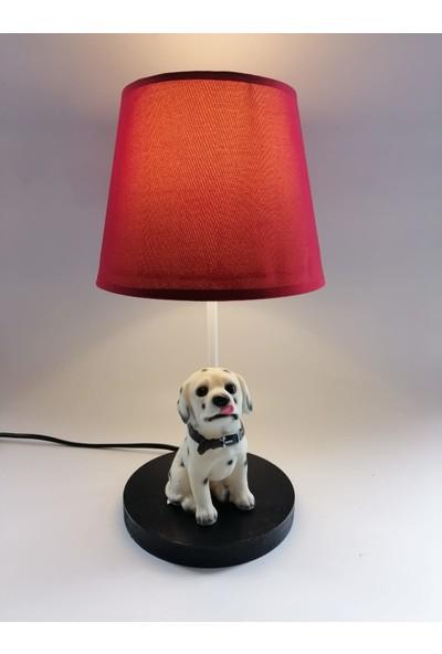 Hediye Fikri Dekoratif Dalmaçyalı Türü Köpek Tasarımlı Abajur