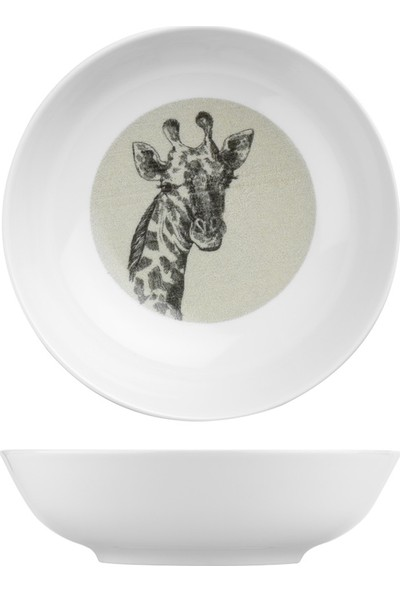 Kütahya Porselen Vista 21 cm Çukur Tabak Nano NNVST21CK885121