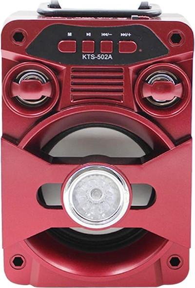 Onetick KTS-502A Radyolu Kablosuz Işıklı Bluetooth Speaker