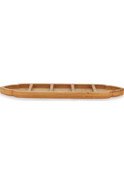 Schafer Lotus Bambu 5Böl.Çerezlik - 41 cm - 1 Parça