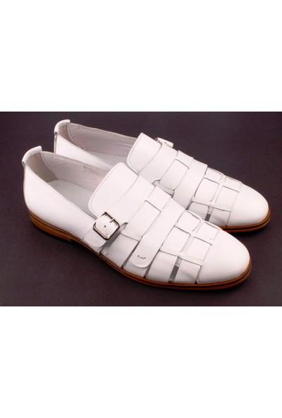 Bruno Shoes 9016K Erkek Klasik Deri Kösele Taban Ayakkabı