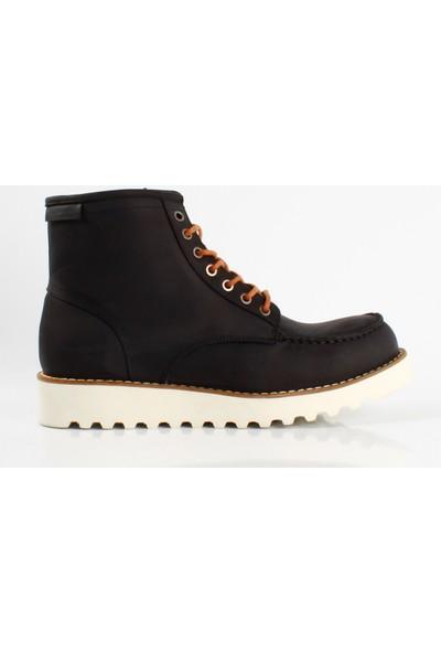 Bruno Shoes Siyah Antik Deri Eva Taban Erkek Bot G02-2736 1