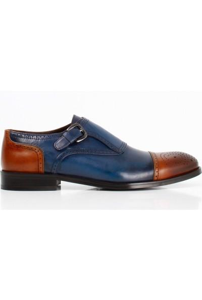Bruno Shoes 6164K Klasik Erkek Kösele Taban Ayakkabı