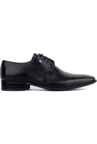 Sail Laker's Fosco Siyah Deri Neolit Erkek Klasik Ayakkabı