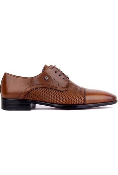 Sail Laker's Fosco Taba Deri Erkek Klasik Ayakkabı