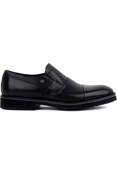 Sail Laker's Fosco Siyah Deri Erkek Günlük Ayakkabı