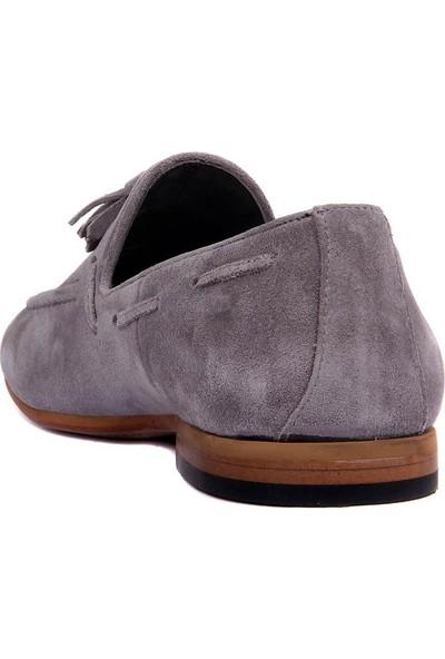 Sail Laker's Gri Süet Erkek Ayakkabı