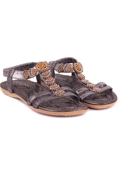 Sail Laker's Guja Gri Kadın Sandalet