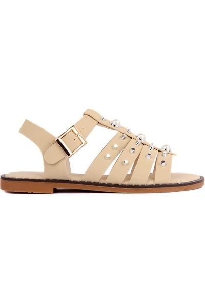 Sail Laker's Guja Bej Kadın Sandalet