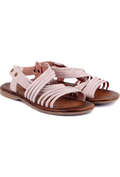 Sail Laker's Pudra Deri Kadın Sandalet