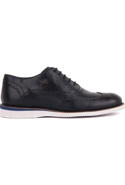 Sail Laker's Lacivert Deri Günlük Erkek Ayakkabı