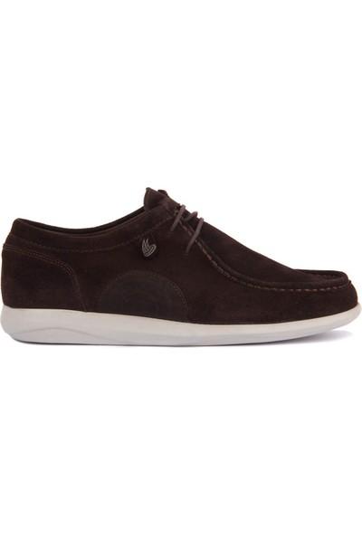 Sail Laker's Kahverengi Süet Erkek Günlük Ayakkabı