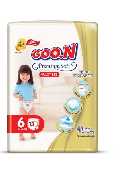 Goon Premium Soft Külot Bez 6 Beden İkiz Paket 13 Adet