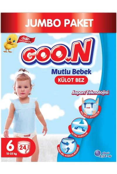 Goon Mutlu Bebek Külot Bez 6 Beden Jumbo Paket 24 Adet