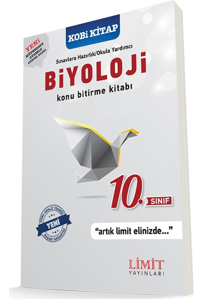 Limit 10. Sınıf Biyoloji Konu Bitirme Kitabı