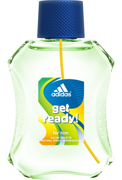Adidas Get Ready Erkek Parfüm Edt 100 Ml