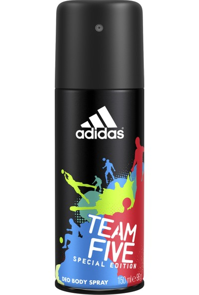 Adidas Team Five Erkek Deodorant Erkek Deodorant 150 Ml