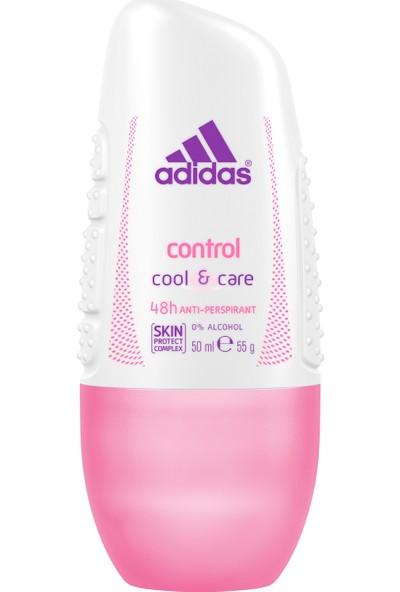 Adidas Action 3 F Control Roll Kadın Roll On 50 Ml