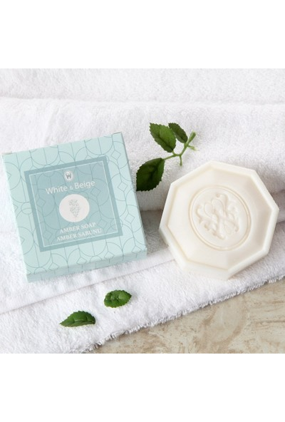 White & Begie Amber Kokulu Sabun 100 gr