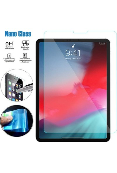 Caseup Apple iPad 11'' 2018 Ultra İnce Nano Cam