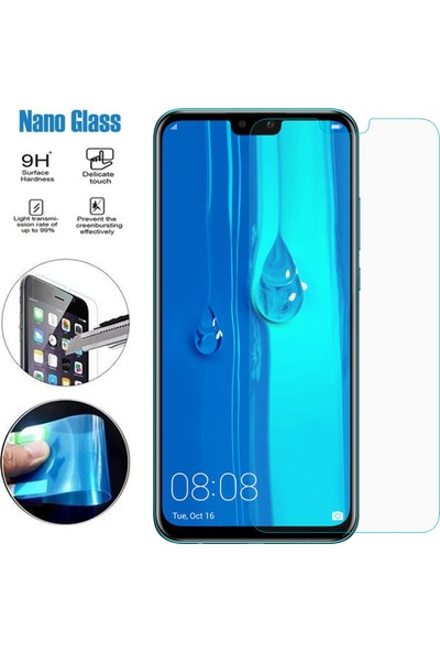 Caseup Huawei Y9 2019 Ultra İnce Nano Cam