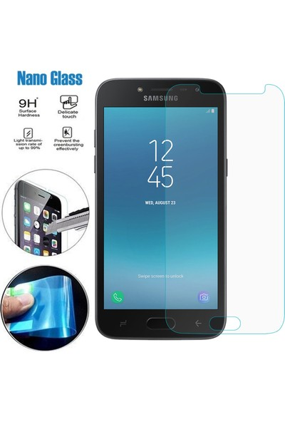 Caseup Samsung Galaxy J2 Pro 2018 Ultra İnce Nano Cam