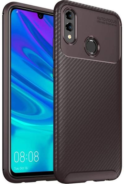 Microsonic Huawei Honor 10 Lite Kılıf Legion Series Kahverengi