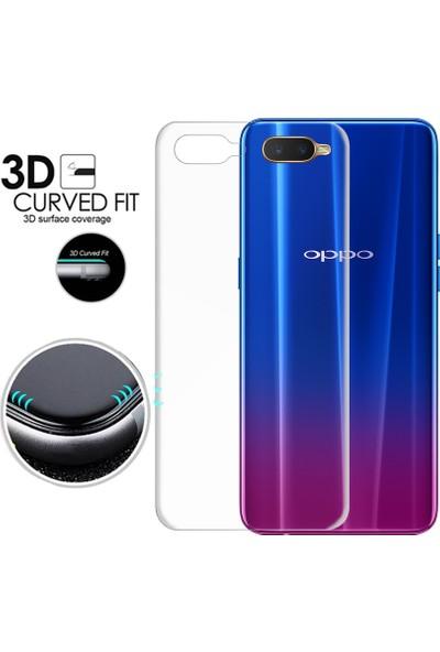 Microsonic Oppo RX17 Neo Ön + Arka Kavisler Dahil Tam Ekran Kaplayıcı Film