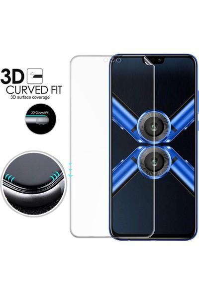 Microsonic Huawei Honor 8X Ön + Arka Kavisler Dahil Tam Ekran Kaplayıcı Film
