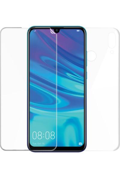 Microsonic Huawei P Smart 2019 Ön + Arka Kavisler Dahil Tam Ekran Kaplayıcı Film
