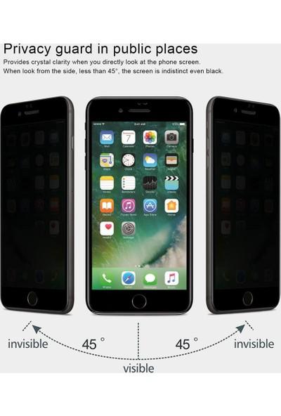 Microsonic Apple iPhone 8 Privacy 5D Gizlilik Filtreli Cam Ekran Koruyucu Siyah