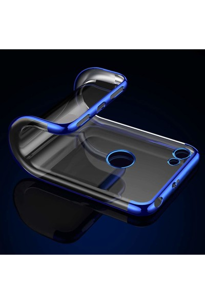 Microsonic Casper Via G3 Kılıf Skyfall Transparent Clear Gümüş