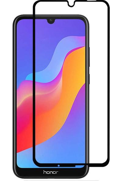 Microsonic Huawei Y6 2019 Tam Kaplayan Temperli Cam Ekran Koruyucu Siyah